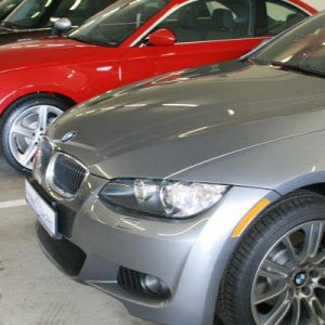 Love those rims...notice the 135i sitting next to mine? Another beauty!