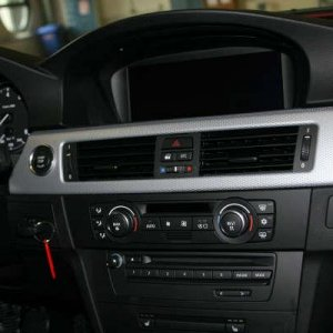A look at the dash with Nav and Glacier Aluminum Trim...