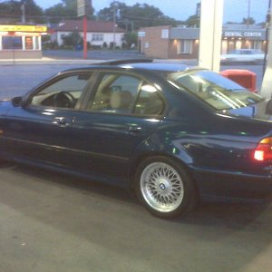 you will do this alot owning an e39