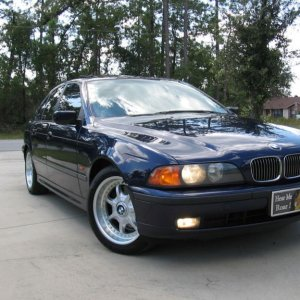 1998 540i, factory sport package, Montreal Blue,