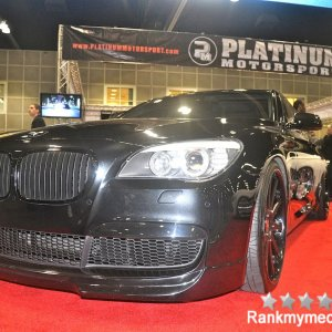 Modified BMW 7 Series