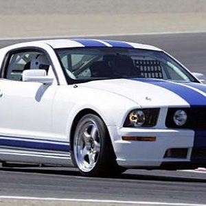 Ford Mustang Factory Race