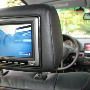 "7"" LCD Headrest Monitor"