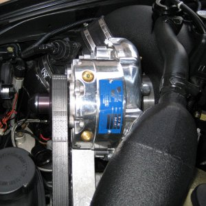 VF Engineered Supercharger drivers side