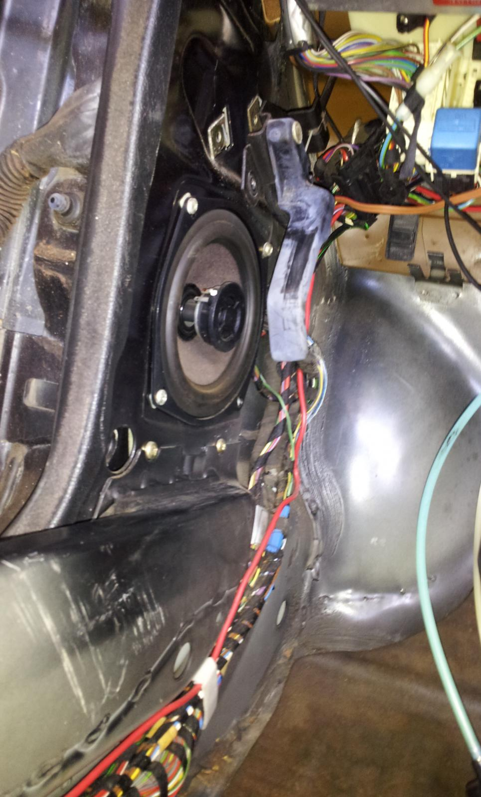 How To Install Heated Seat Wiring Kit From A E30 R3vlimited Forums Harness Cover Back Towards Driver And Over In Front Of Rails