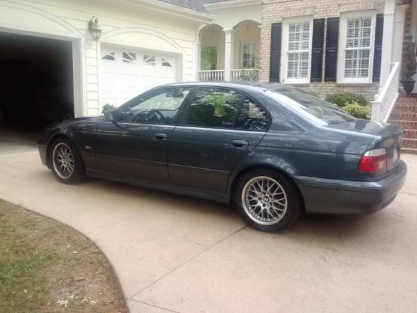E39 2001 530i 5 speed M Sport and Premium packages $4000 cash in NC ...
