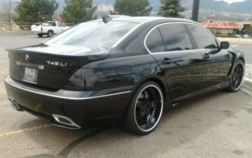 I Have A BMW Li For Sale All Blacked Out Wbody Kit - 2010 bmw 745i