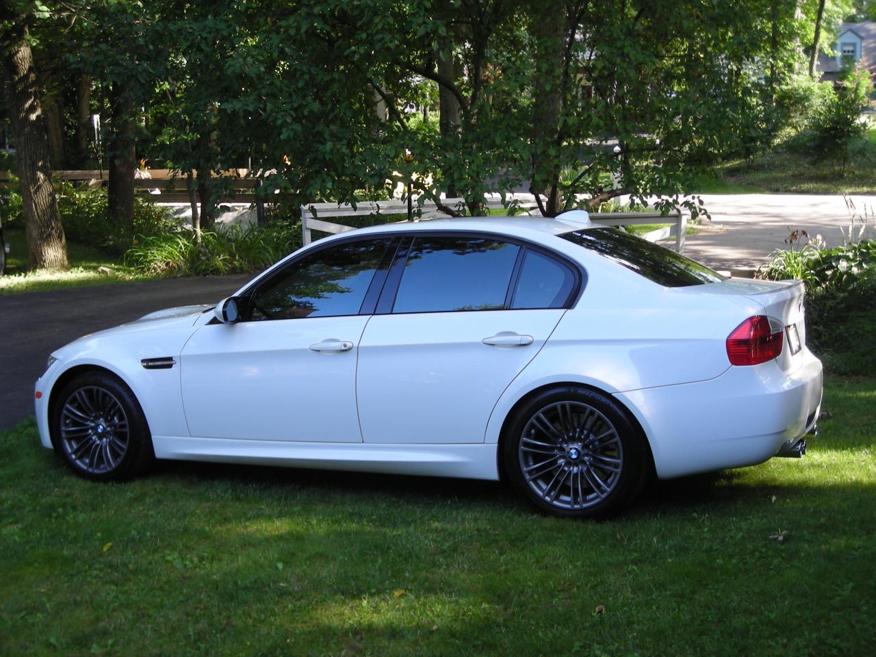 35 OR 20 Tint On 09 335i Alphine White Coupe