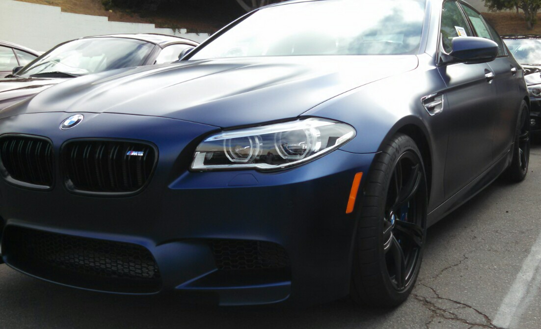 2014 Bmw M5 In Frozen Dark Blue Bimmerfest Bmw Forums