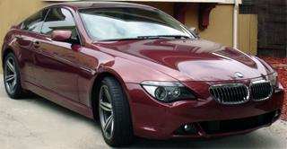 2005 Bmw 645ci Chiaretto Red Sports Package Hud Oem M6 Wheels 2006 325i Sparkling Graphite Xenon 18 E46 M3