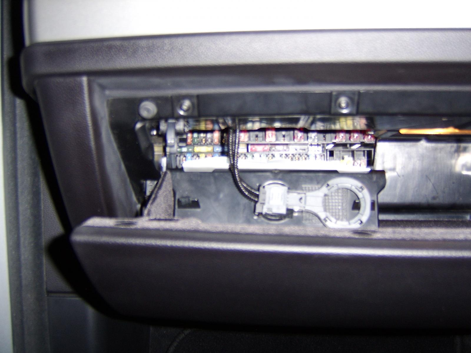 Location of fuse box for cigarett lighter - Bimmerfest - BMW Forums