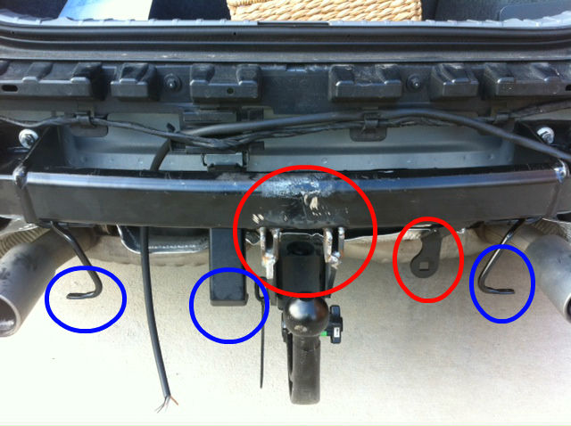 Stupendous Diy Oem Tow Bar Hitch Install Bimmerfest Bmw Forums Wiring 101 Orsalhahutechinfo